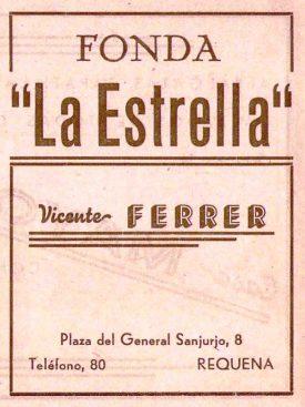 Bares - 1939-09-00 Fonda La Estrella en Programa Feria y Fiestas de Requena.jpg