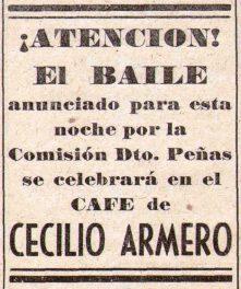 Bares - Baile en el Café de Cecilio Armero en El Trullo 1949-12-04.jpg