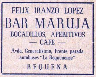 Bares - Bar Maruja en El Trullo 1949-12-04.jpg
