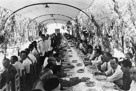 Bares - 1966-06-27 Banquete en el Restaurante San José, Inauguración oficinas Caja Rural La Unión de Requena.jpg