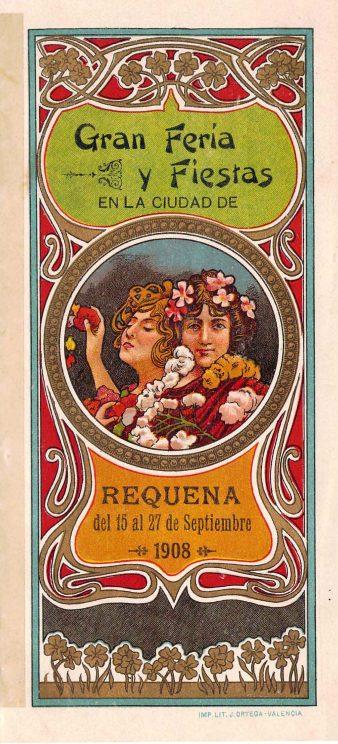 1908-09 Programa Feria y Fiestas de Requena (portada).jpg