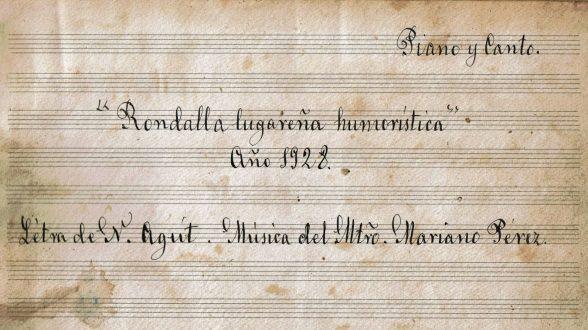 MPS - Rondalla Lugareña Humorística (Rondalla, 1928) Portada.jpg